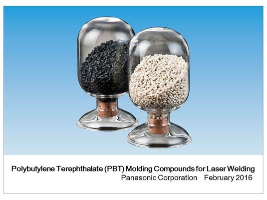 تجاری کردن ترکیب پلی بوتیلن ترفتالات برای جوش لیزر توسط پاناسونیک