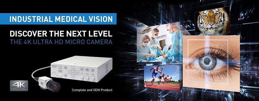 راه اندازی دوربین های میکرو 4K Ultra HD پاناسونیک