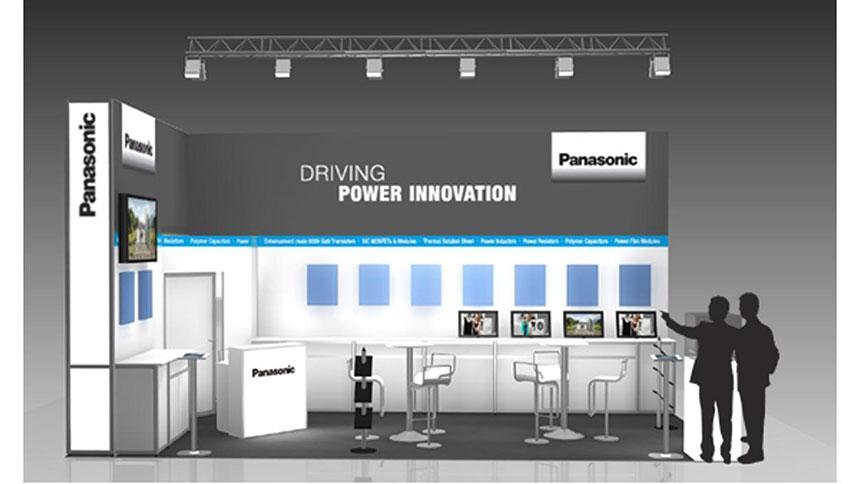 نمایش دستگاه های تأمین برق پاناسونیک در نمایشگاه PCIM Europe 2016