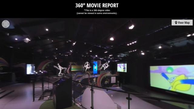 گزارش 360 درجه از غرفه پاناسونيك در شوگرلوف