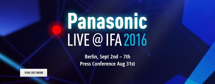 Panasonic LIVE@IFA 2016