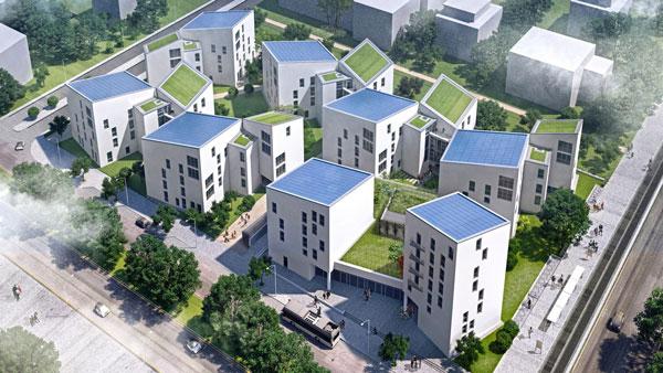مشارکت پاناسونیک در شهرک محیط زیستی آلمان