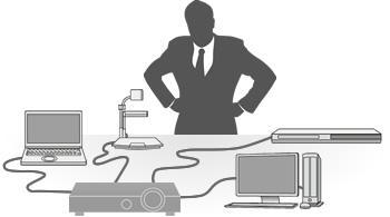 اتصال ديوايس هاي خروجي به ويدئوپروژكتور