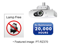 ویدئو پروژکتورهای سری Solid Shine ویدئو پروژکتورهای مبتنی بر لامپ