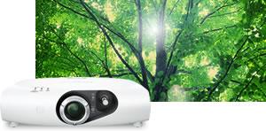سازگاری با محیط زیست ویدئو پروژکتورهای پاناسونیک